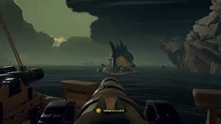 Sea of Thieves - Megaladon Glitches Out