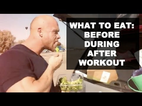 Ben Pakulski What to Eat Before, During, After Workout ...