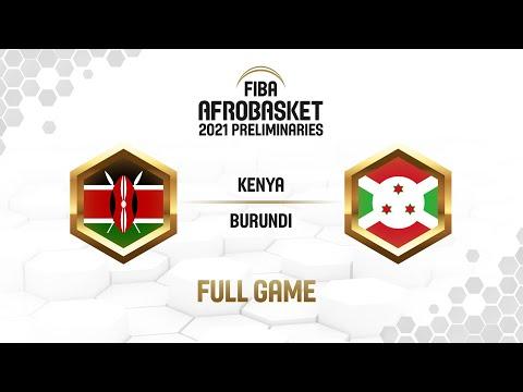 Kenya v Burundi - Full Game - FIBA AfroBasket  Preliminaries 2021