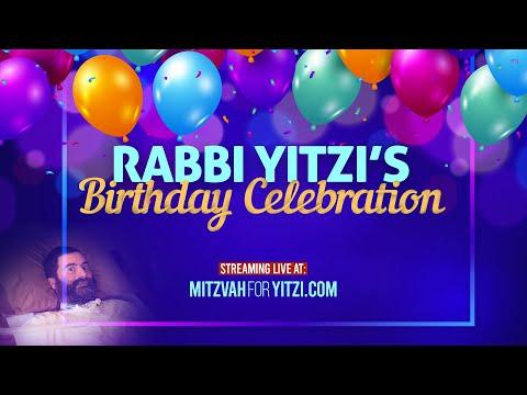 Rabbi Yitzi's Birthday Celebration 5781 PROMO!
