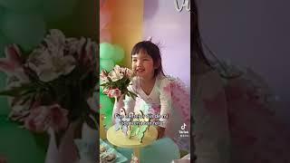Feliz cumpleaños Victoria ❤️ Hoy fue el mejor día de mi vida al verte tan feliz ❤️