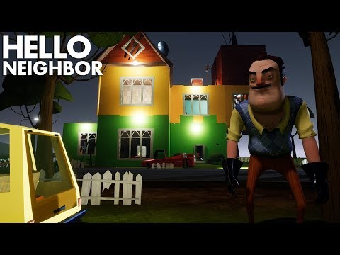 The Neighbor Has An ENTIRELY NEW HOUSE!!! | Hello Neighbor (Beta 3 Mods)