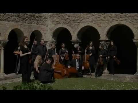 Marie Cantagrill plays Bach Violin Concerto in A minor BWV 1041 with the Ariege String Orchestra