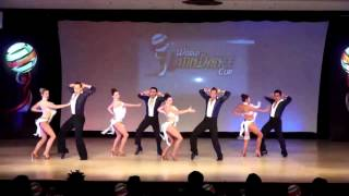 Grizzly Dance Company Pro Team, Salsa Team Cabaret, USA, Final Round, WLDC 2013