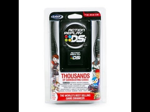 dsi action replay software