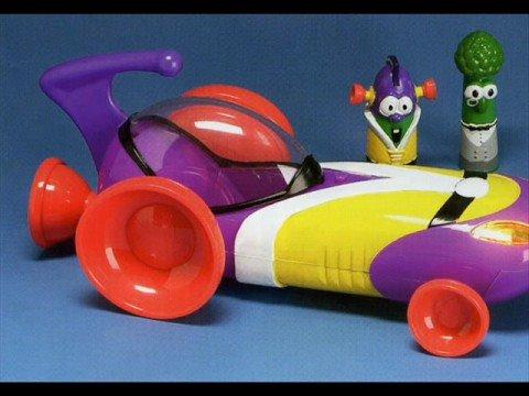 Larryboy Meets Batman The Sports Utility Vehicle Song Larry Boy