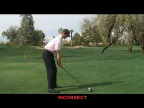 Perfect golf drive in 10 steps (part 7)