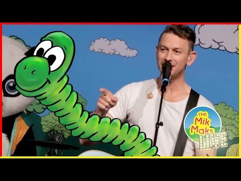 The Caterpillar Song - A kids songs with actions - The Mik Maks Live