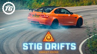 Brand New Stig Drifts: BMW M3 GTS | Top Gear