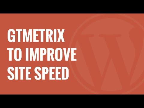 How to Use GTMetrix Plugin to Improve WordPress Site Performance - 동영상
