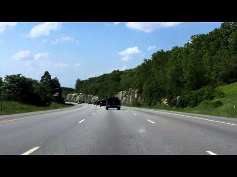 Alan Shepard Highway (Interstate 93 Exits 6 to 11) northbound