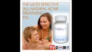 Clearzine 4 Bottles   The Top Rated Acne Treatment Pill  Elimi Thumbnail