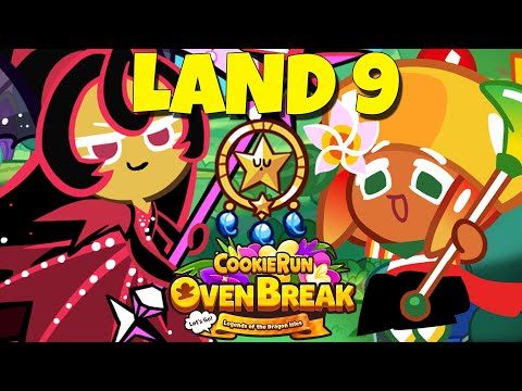 CROB MOONLIGHT MANGO LAND 9 CookieRun Ovenbreak