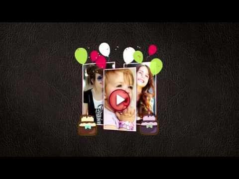 Happy Birthday Video Maker - YouTube