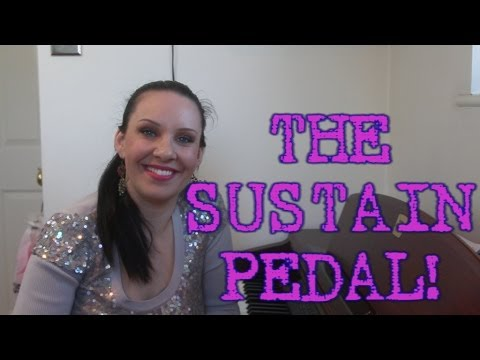 How To Use The Sustain Pedal on PIANO / Keyboard