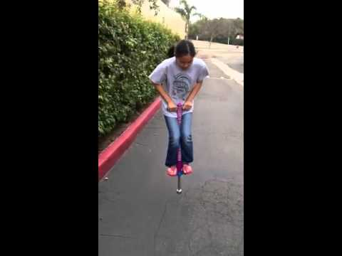 How To Ride A Pogo Stick Youtube