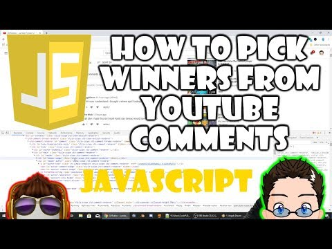 JavaScript - How to, Comment Picker - for my Book Giveaway. thumbnail