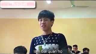 Sinh viên hát tặng cô giáo bài hát max bựa :))