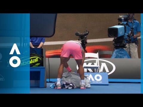 Fashion police with Rafa Nadal | Australian Open 2018