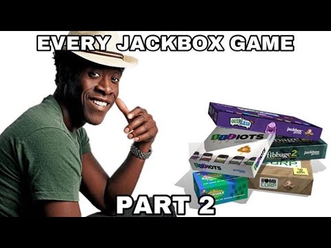 Playing Every Jackbox Game: Party Pack 2 |