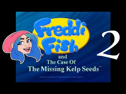 Jade Plays: Freddi Fish and the Case of the Missing Kelp Seeds Ep. 2 |