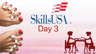 SkillsUSA National Competition 2018 | Nail Care Day 3