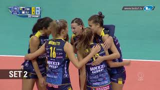 #CLVolleyW - Match of the Week Highlights - Imoco Volley CONEGLIANO - SLIEDRECHT Sport