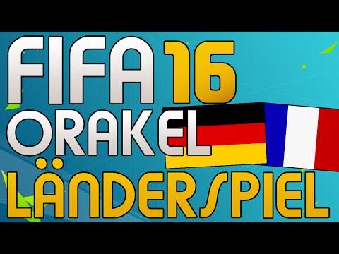 DEUTSCHLAND vs FRANKREICH - FIFA 16 LÄNDERSPIEL ORAKEL - Let's Play Fifa Gameplay