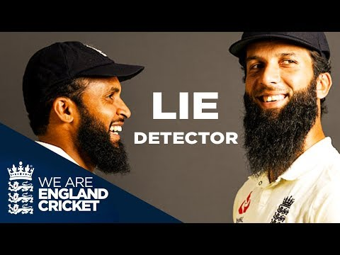 Who Pees In The Shower? | Moeen Ali And Adil Rashid Take On The Lie Detector