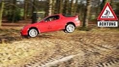 Mazda MX3 geht fliegen - Ackertest | Dumm Tüch