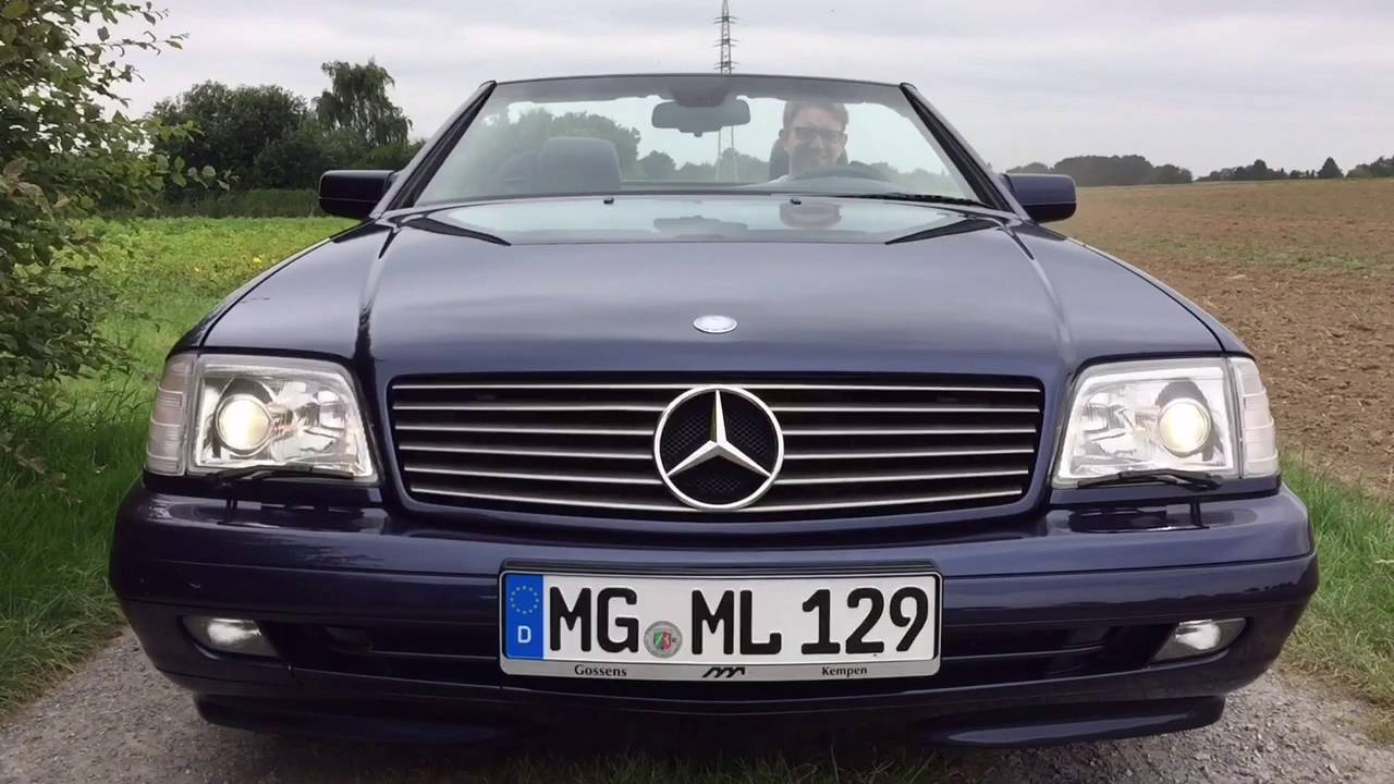 My trailer of the mercedes benz 500 sl r129 best roadster for 90s mercedes benz
