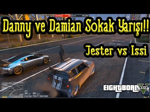 EightbornV Danny ve Damian Sokak Yarışı Yapıyor!! - Jester vs ISSİ - EightbornV Rraenee