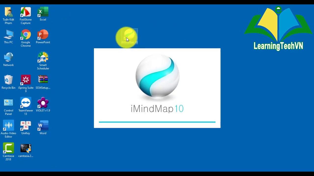Hướng dẫn cài phần mềm iMindMap 10