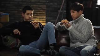 Video Song Joong Ki  & Park Bo Gum in making film domino pizza download MP3, 3GP, MP4, WEBM, AVI, FLV Maret 2018