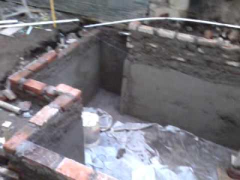 pembuatan kolam minimalis part 1 youtube