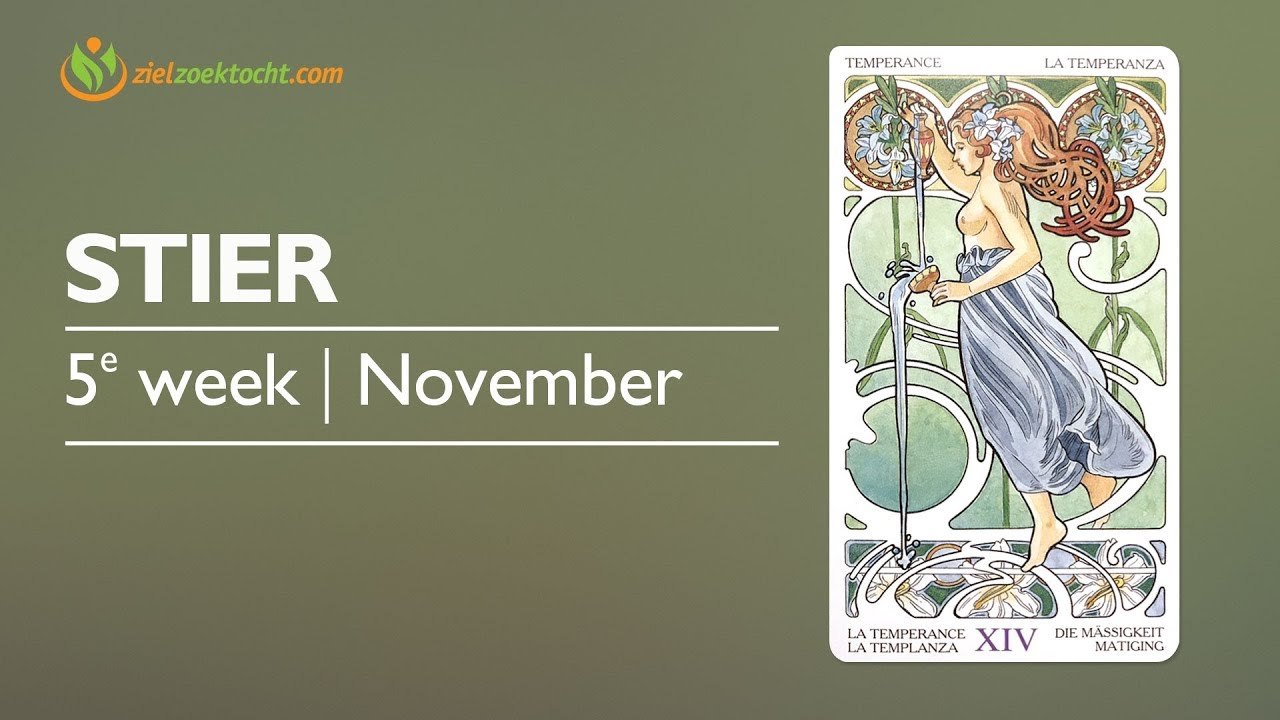 24 November Sterrenbeeld Stier Wekelijkse Tarot Kaartlegging Horoscoop Lezing Week 48 27 November T M 3 December
