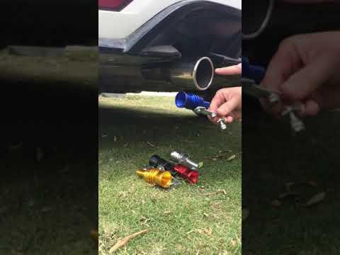 Fun & Fake Exhaust System!