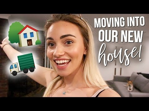 MOVING INTO OUR NEW HOUSE! Weekly Vlog