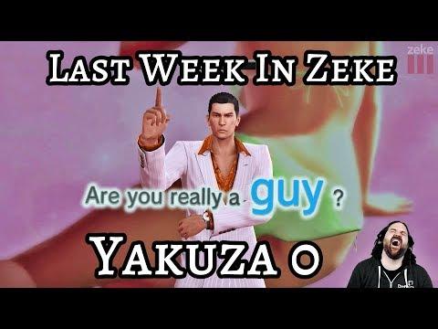 Last Week in Zeke: Yakuza 0