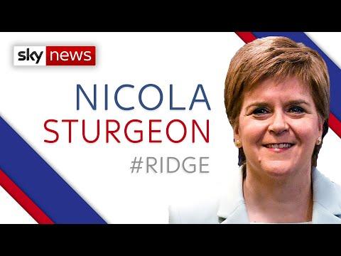 Coronavirus: Nicola Sturgeon defends Scotland's approach to care homes