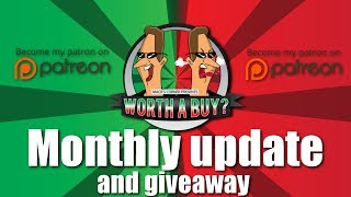 Monthly Update - Thanking my supporters