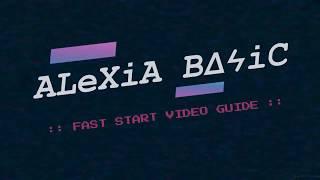 GOTO :: ALEXIA BASIC FAST START VIDEO GUIDE