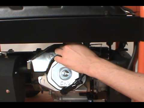 Changing The Spark Plug Generac Portable Generator Youtube