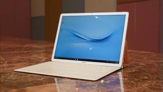 استعراض للحاسب المتحول Huawei MateBook