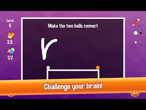 Brain Buster! Addictive puzzle game kit (draw shapes, connect dots)