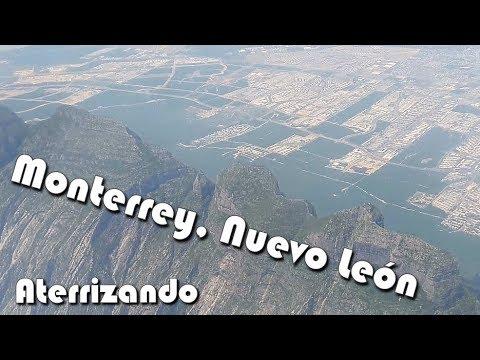 Aterrizando, Aeropuerto, Monterrey, Nuevo León, Volaris, 2018