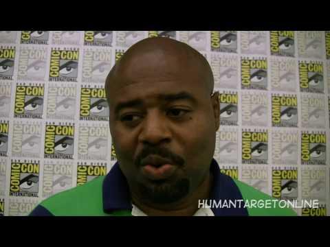 Chi McBride at Comic Con 10