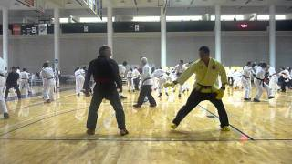 Cuong Nhu IATC 2011: Grandmaster Quynh Ngo vs Master John Burns