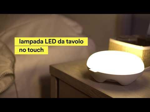 Lampada LED da tavolo con sensore di movimento
