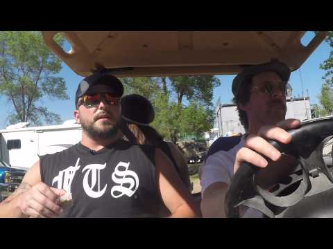 WE Fest 2015 - Tyler Farr takes a Ride to VIP Campground